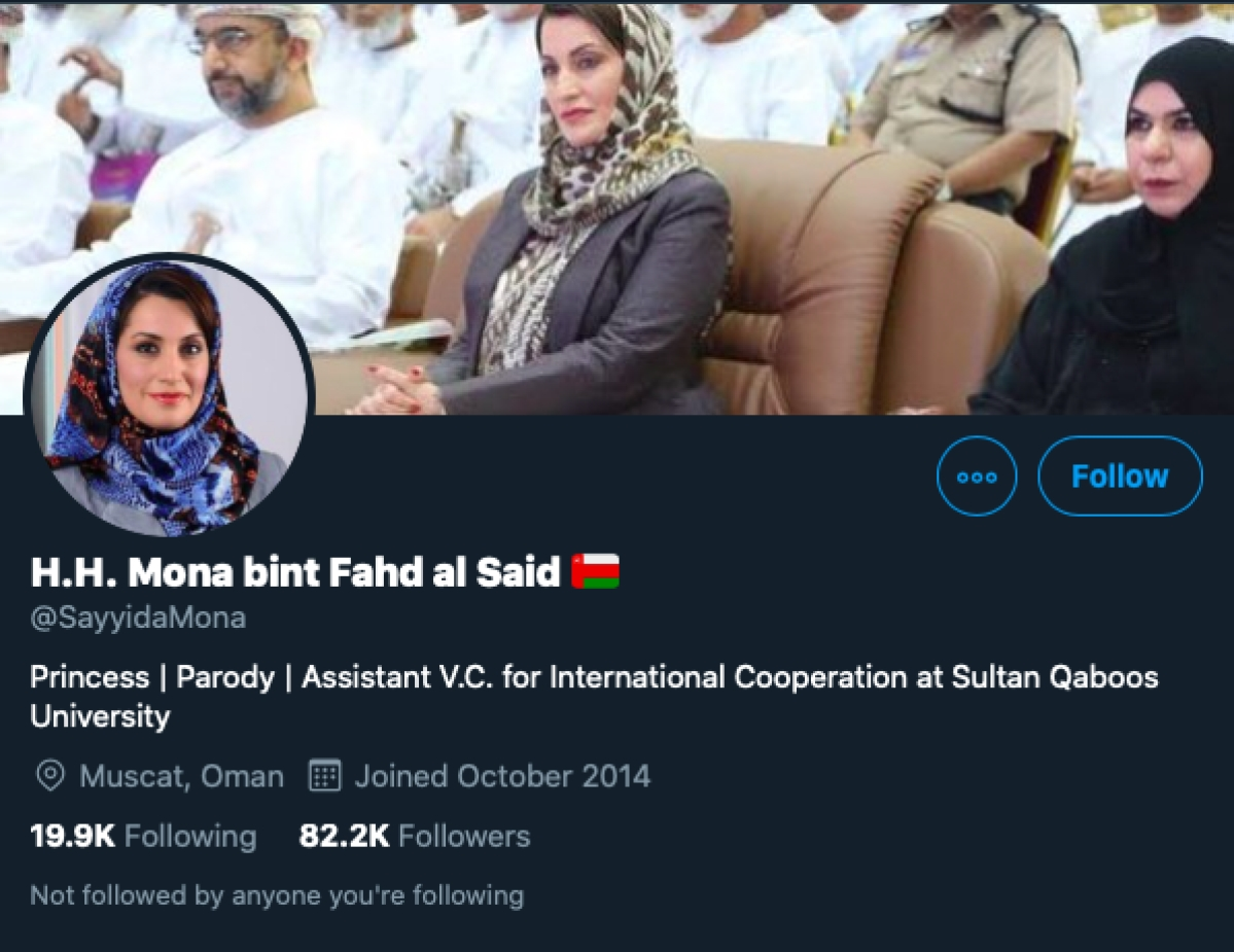 Pakistani journalist falls for fake Omani Princess account that criticises India, even after bio is changed to 'parody'