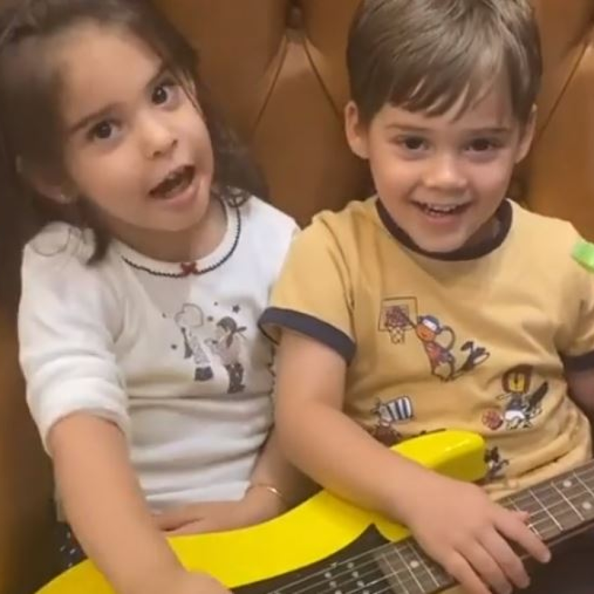 Watch: Karan Johar shares video of his twins Yash and Roohi singing, says it's not in their genes