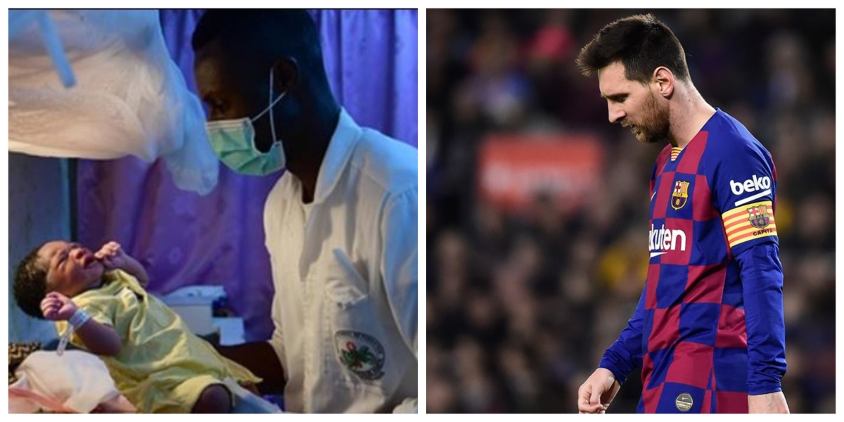 Lionel Messi expresses 'deepest gratitude' towards health workers fighting coronavirus pandemic