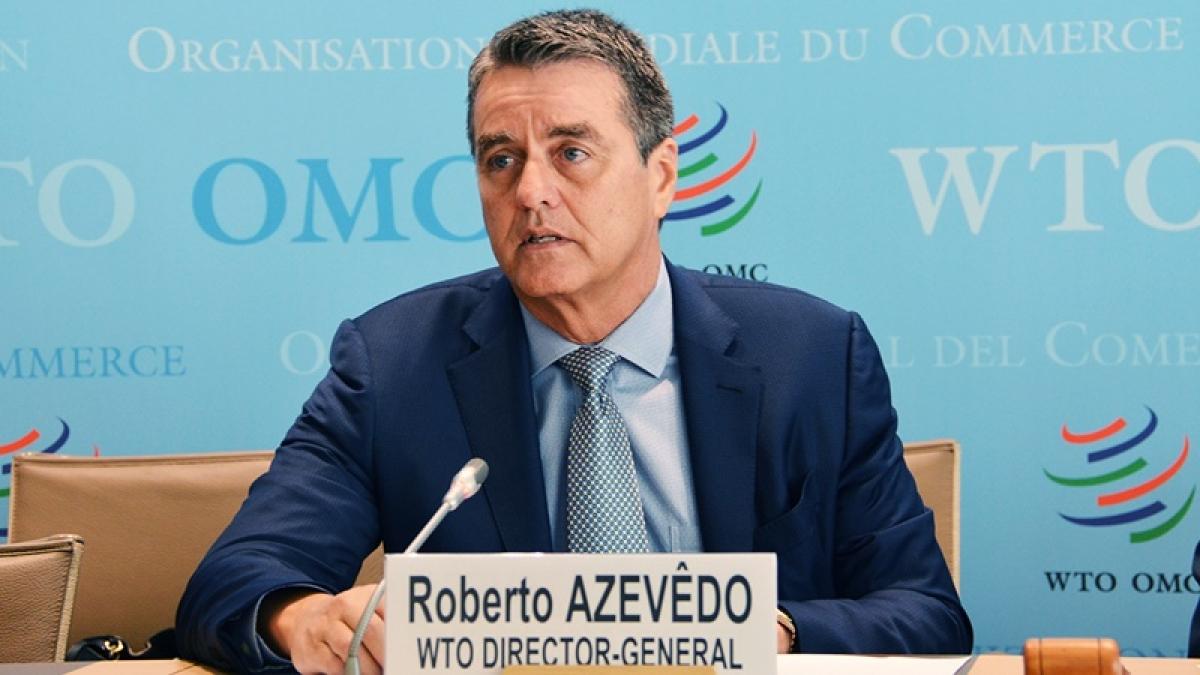 WTO chief Roberto Azevedo