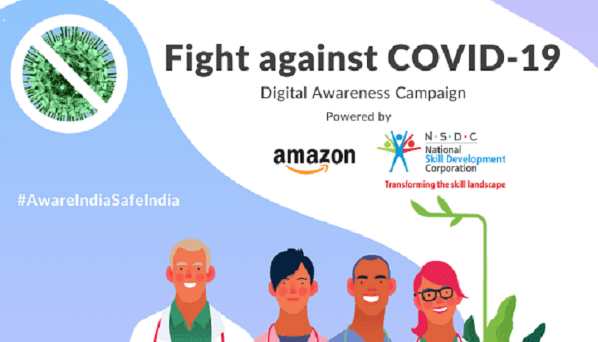 NSDC ties up with Amazon India to launch digital campaign on coronavirus awareness
