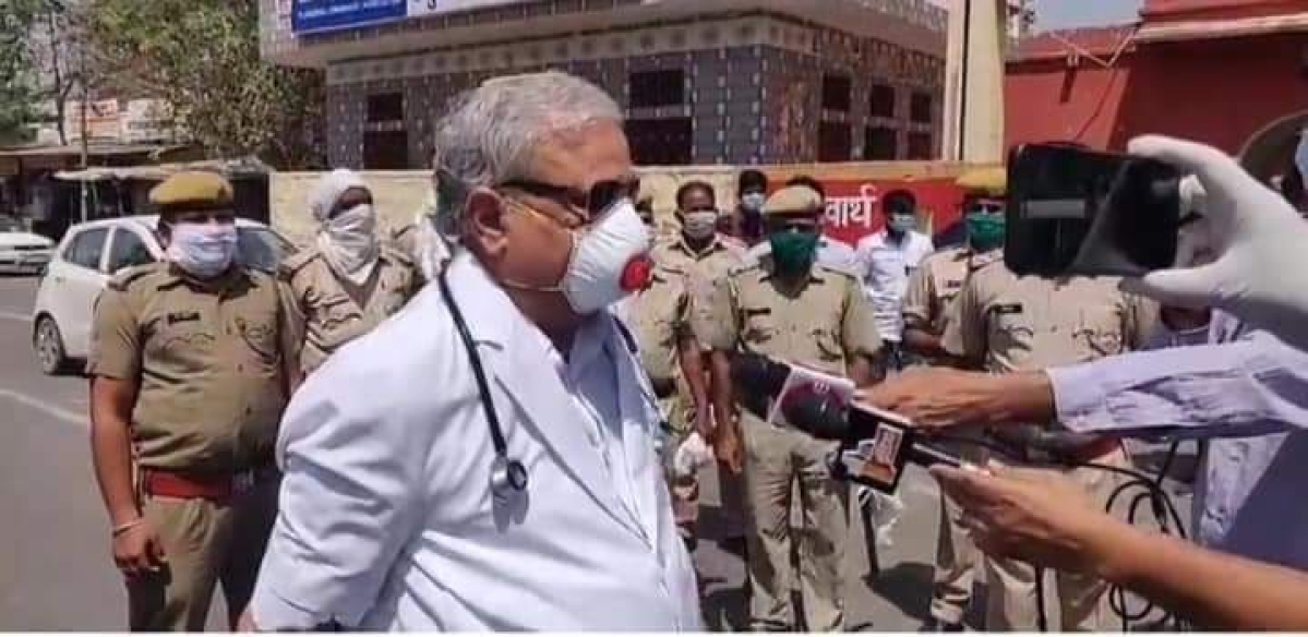 Reporting for duty: RS MP Dr Kirodilal Meena suits up, joins medical personnel to fight COVID-19 in Rajasthan's Dausa