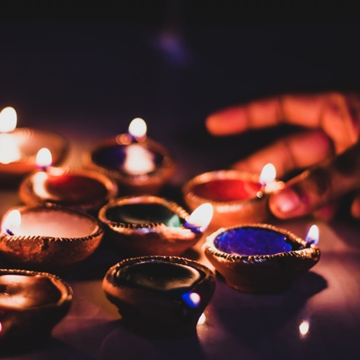 9 baje 9 minutes in pics and videos: How Indians lit their diyas and candles