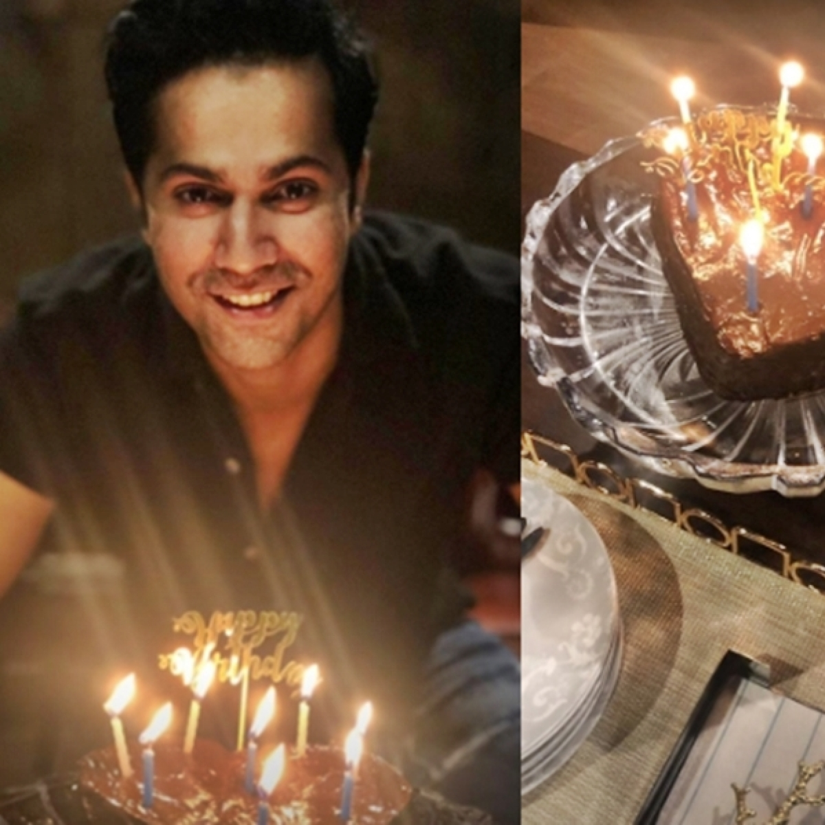 Varun Dhawan turns 33, shares adorable birthday picture with heart-shaped cake