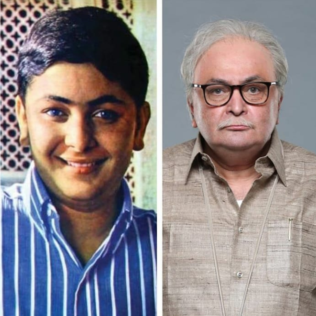 Rishi Kapoor in pics: The eternally young cherub-faced actor who looked like an angel even as an old man