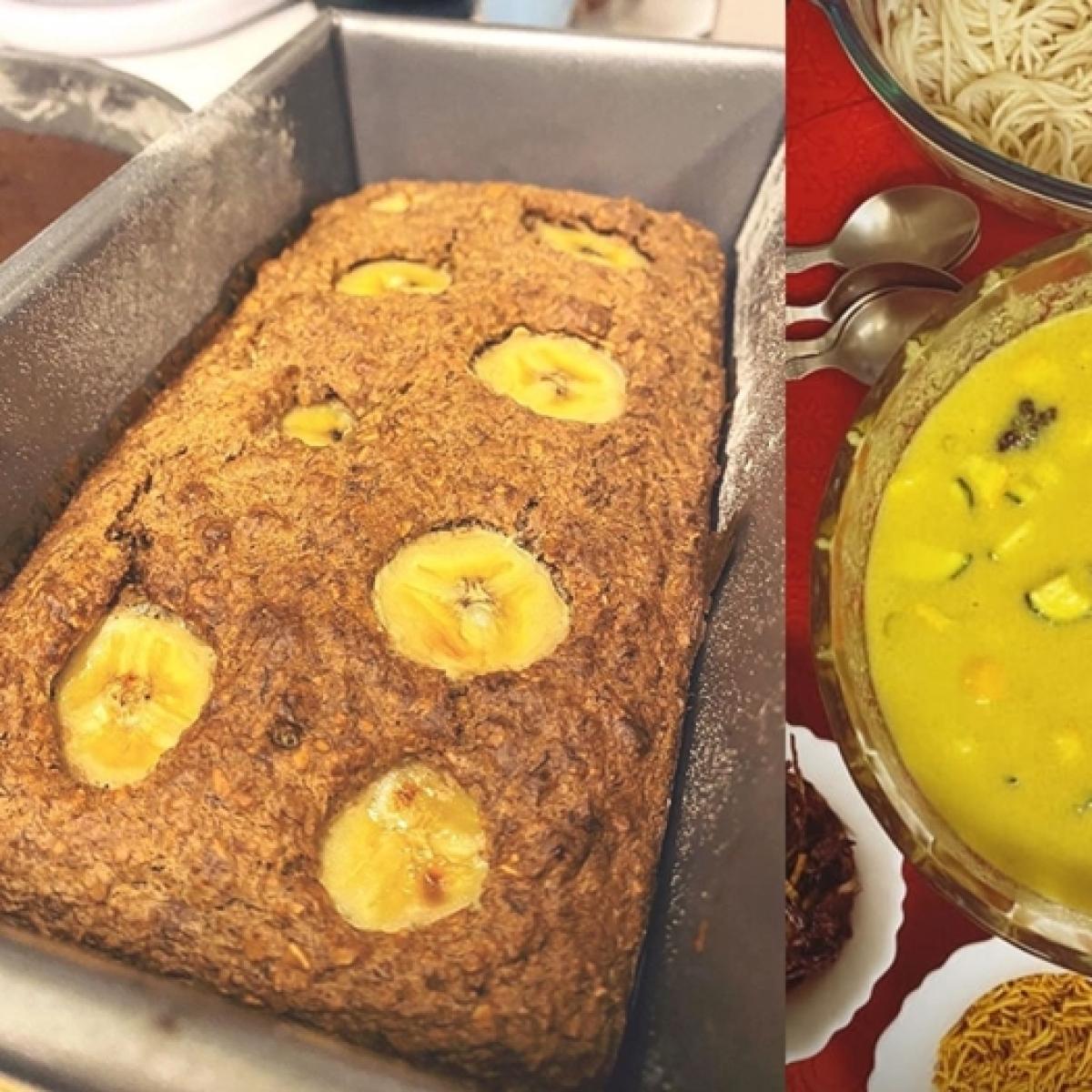 Quarantine Diaries: Easy recipes to make Alia Bhatt's Banana Bread, Mira Kapoor's Khao Suey at home