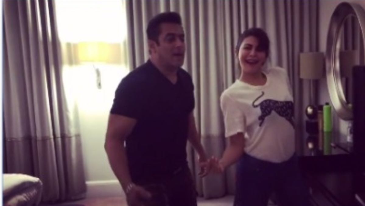 Salman Khan, Jacqueline Fernandez's video grooving to 'Tan Tana Tan' will take your lockdown blues away