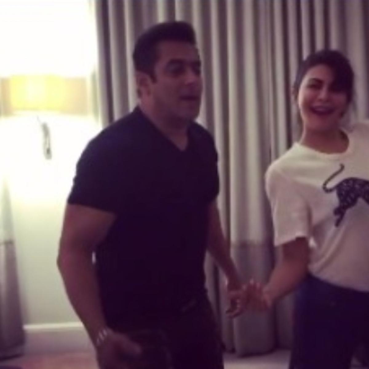 Salman Khan, Jacqueline Fernandez's video grooving to 'Tan Tana Tan' will take your lockdown blues away