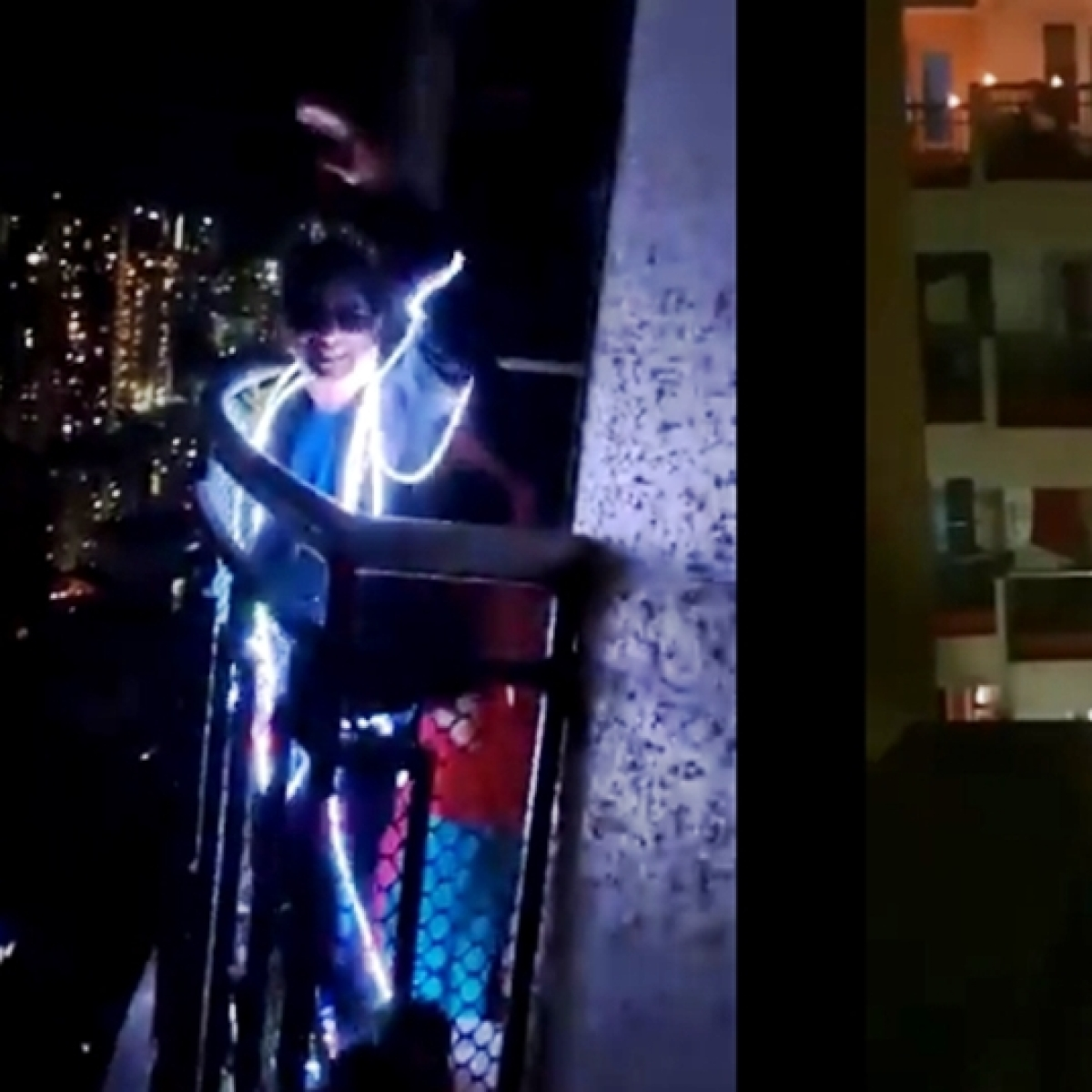 From disco boy to balcony ghost: Indians who were more lit than candles during 9 Baje 9 Minute