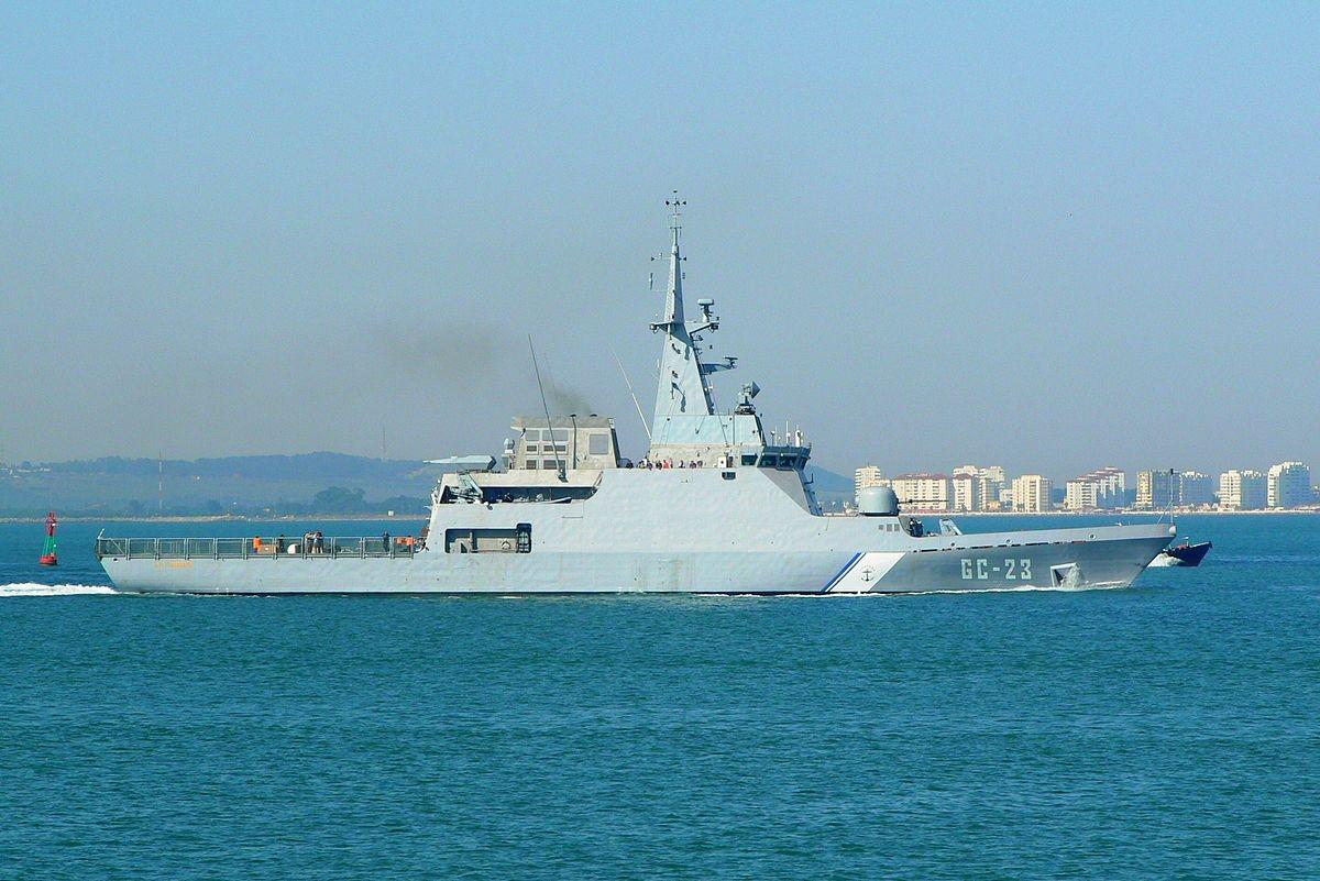The Venezuelan naval ship that sunk
