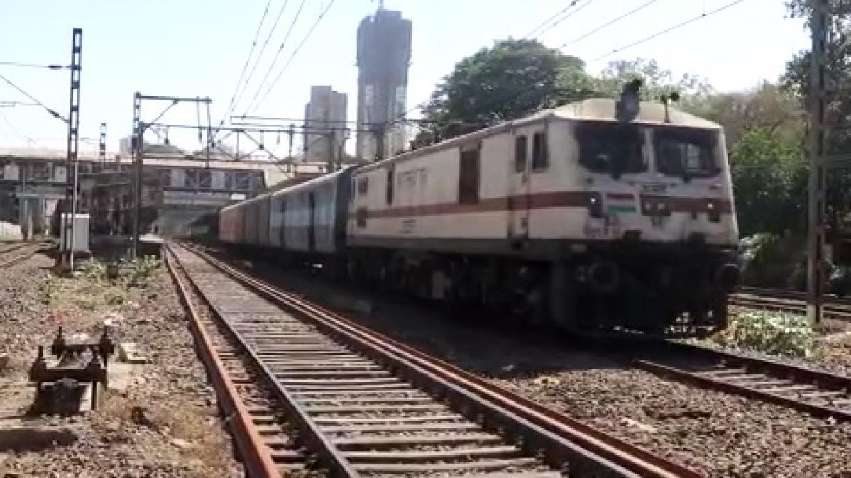 Central Railway's Kalyan-Changsari Parcel Train departs on April 24