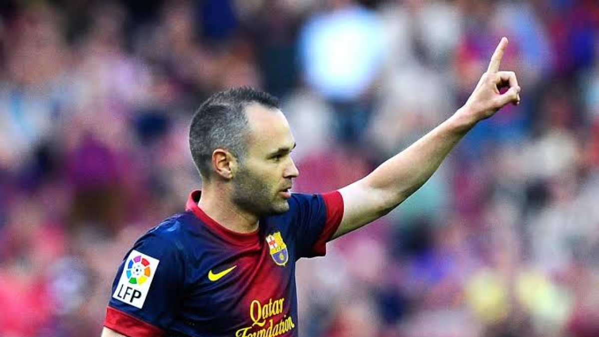 Andres Iniesta reveals battle with depression during his time at Barcelona