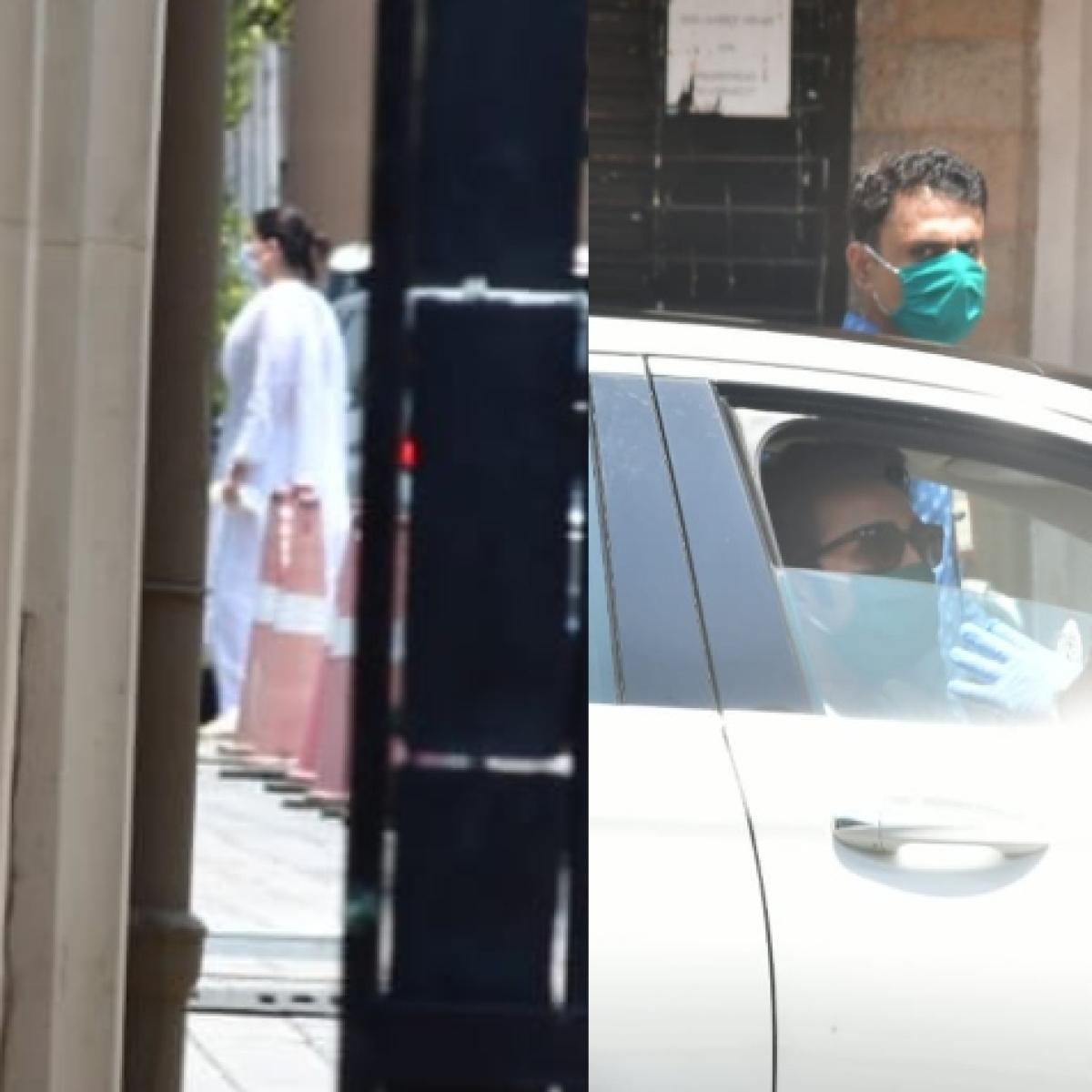 Rishi Kapoor death: Kareena Kapoor, Saif Ali Khan, Alia Bhatt and other celebs arrive to offer condolences