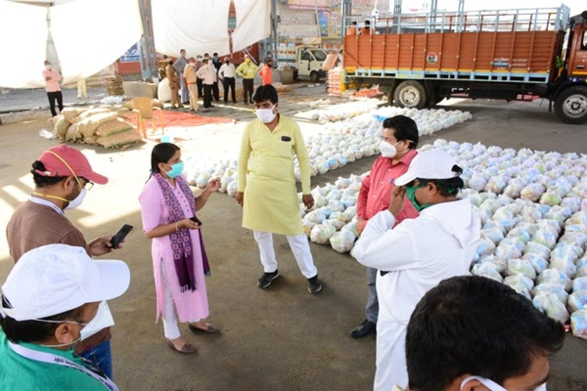 Ujjain: UMC's extensive sanitisation drive