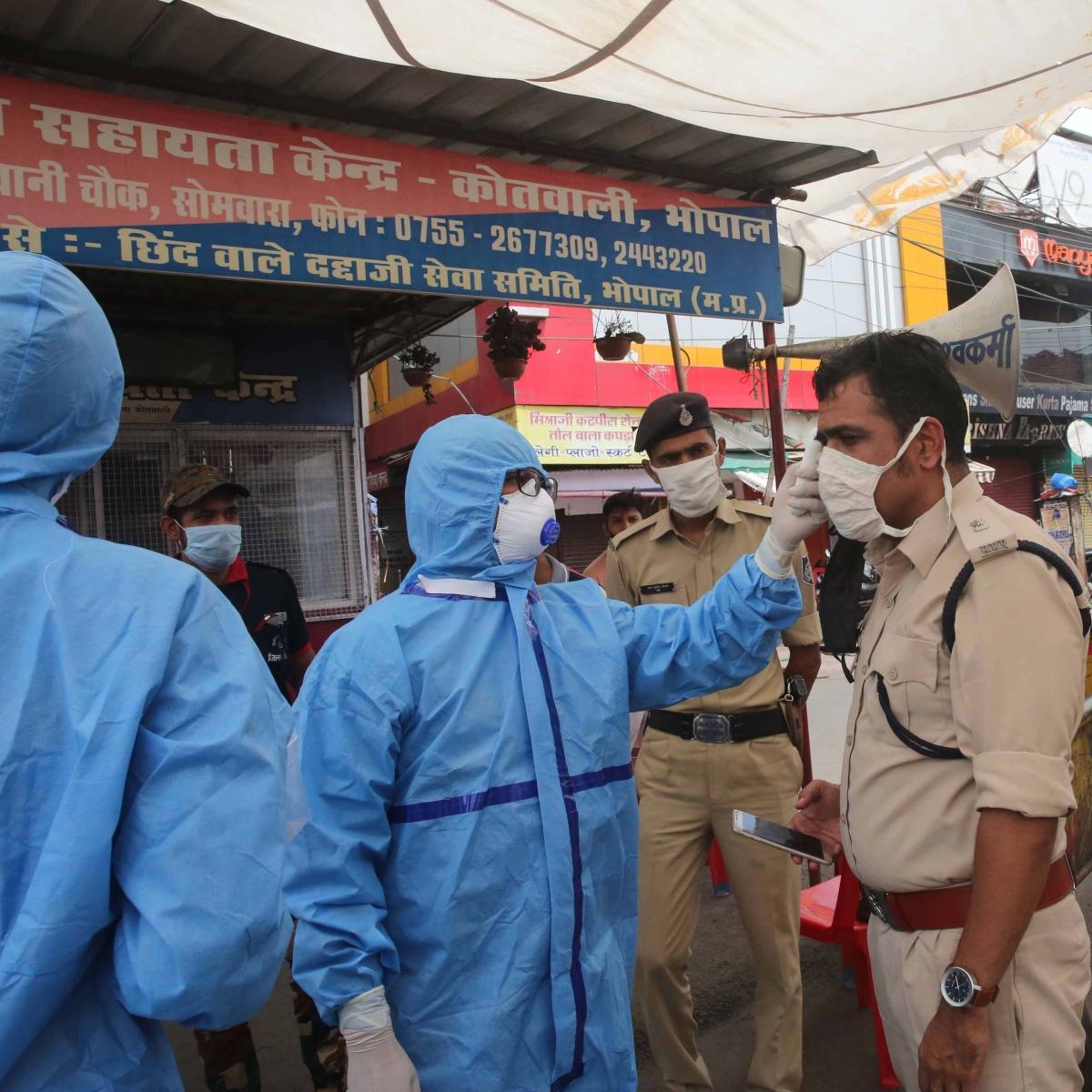 Coronavirus in Indore: 2 IPS among 11 cops test positive