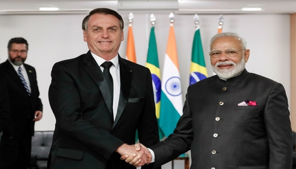 Brazilian President thanks India for allowing export of an anti-malaria drug to treat coronavirus