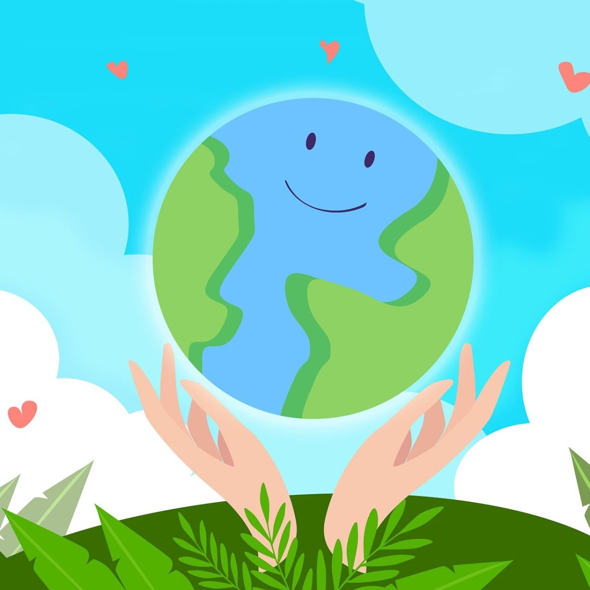 Earth Day 2020: Earth recharges itself naturally!