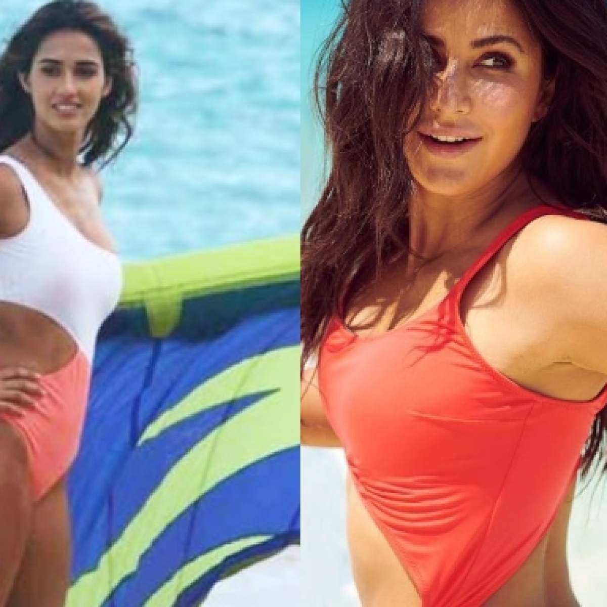 Disha Patani or Katrina Kaif - who wore the sexy cut out monokini better?
