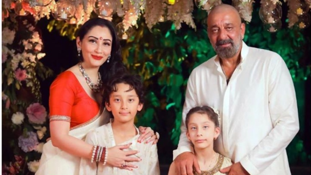 Sanjay Dutt's wife Maanyata, twins Shahraan and Iqra stuck in Dubai amid coronavirus pandemic