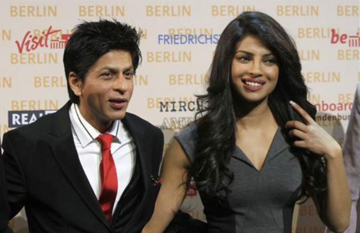 Shahrukh Khan and Priyanka Chopra Jonas.