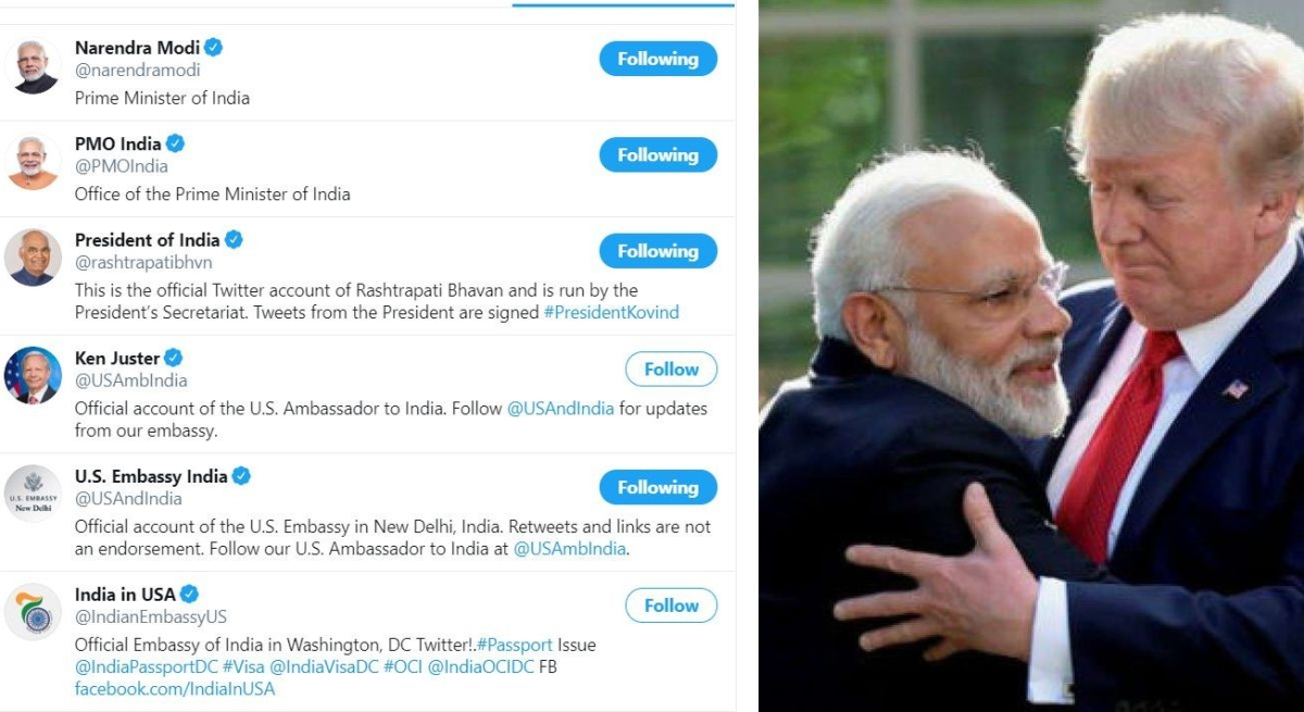 Phir Bhi Dil Hai Hindustani? The curious case of White House only following India-related handles including PM Modi
