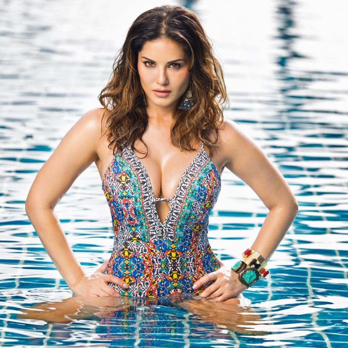 Locked up with Sunny Leone: From sharing monokini pics to live chats, here's how she is entertaining fans