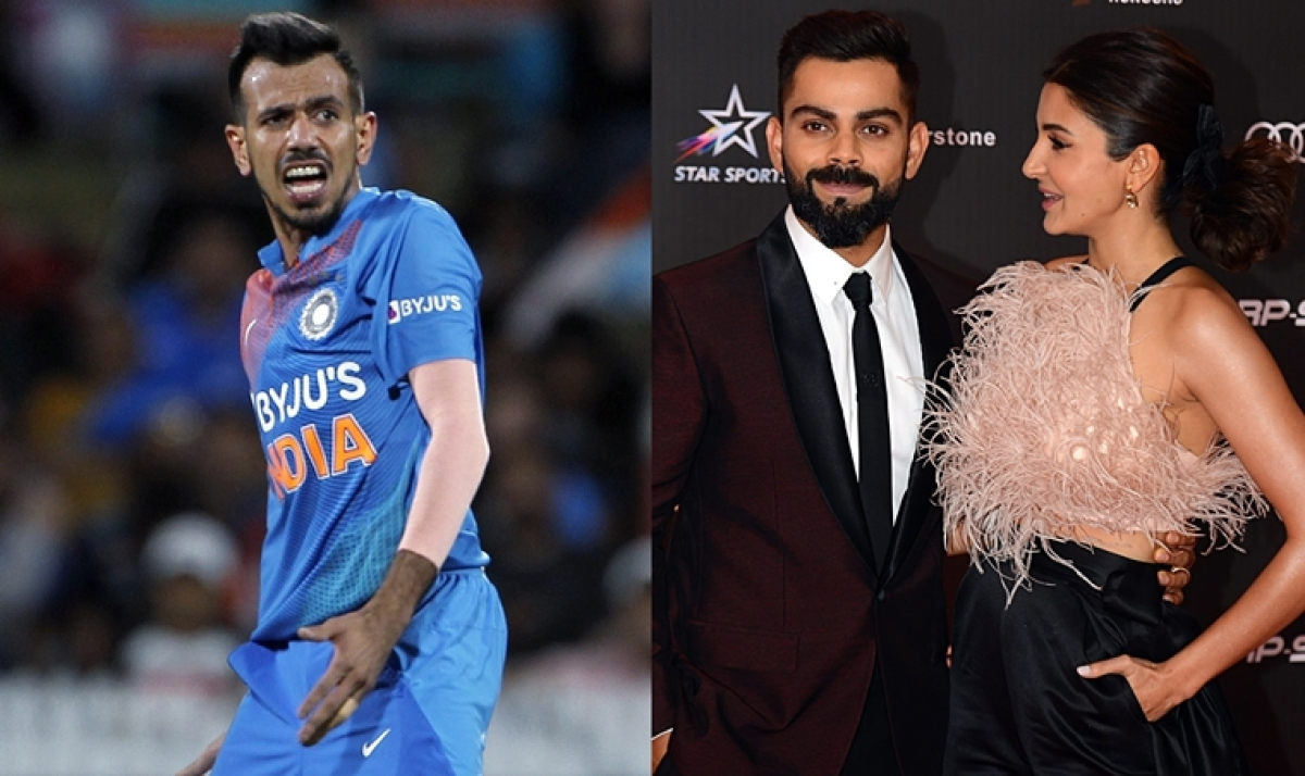 'Bhabhi please say Chahal ko opening Kara na': Yuzvendra leaves an epic comment on Anushka's video with Virat Kohli