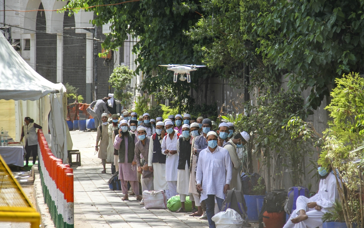 Coronavirus at Nizamuddin Markaz: 134 cases across India traced to Tablighi Jamaat