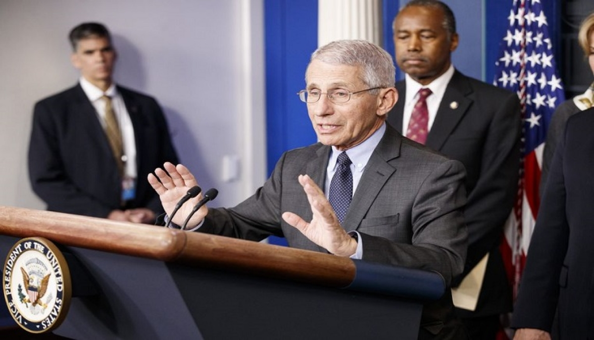 Shut down India for weeks to break COVID-19 chain: White House's chief medical adviser Anthony Fauci