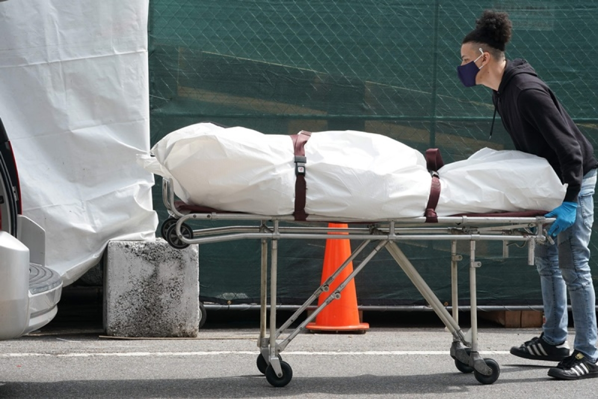 New York using mass grave amid outbreak: Report