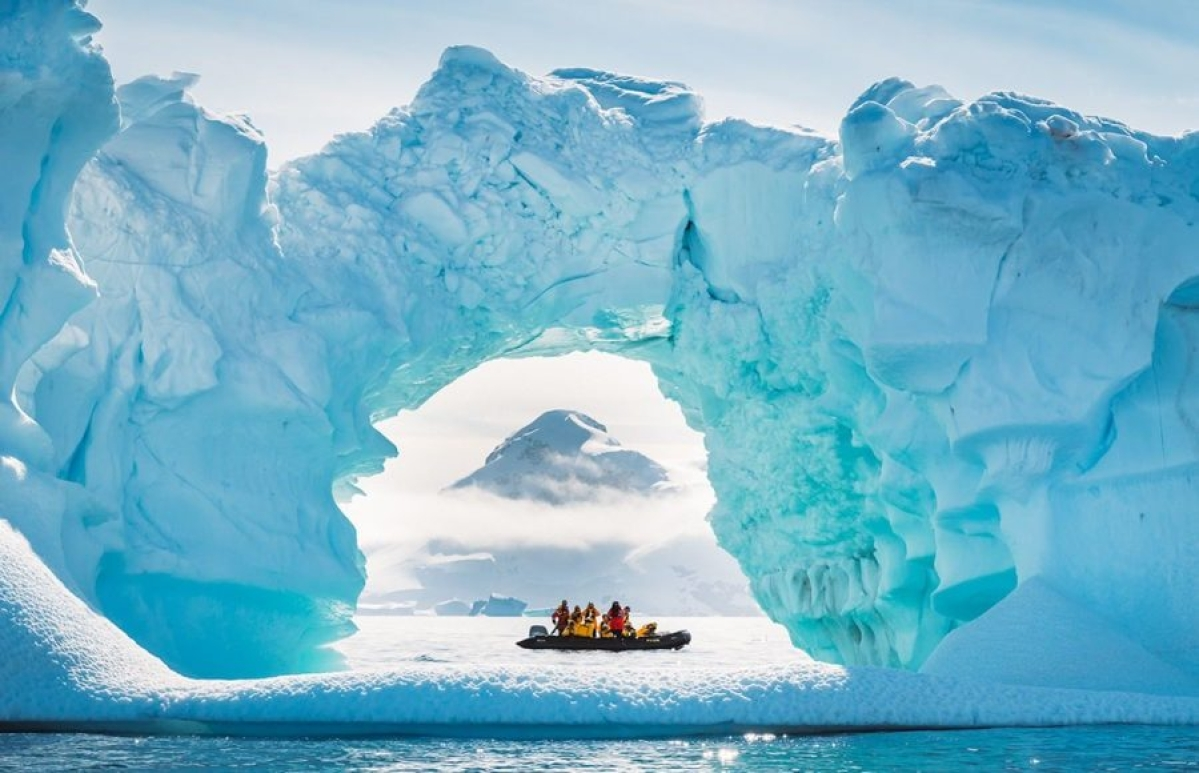 Antarctica used to be greener, warmer 90 mn years ago!
