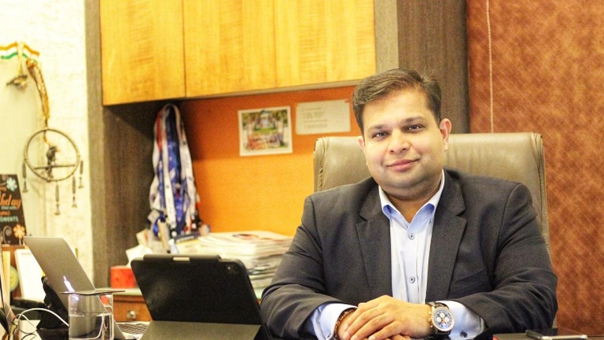 Neeraj Gupta, founder and CEO of Genes2Me