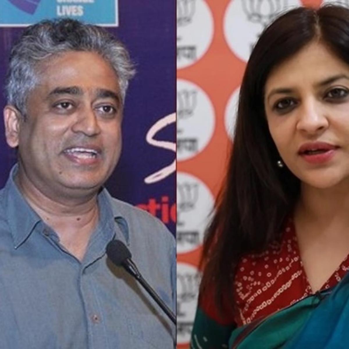 Shazia Ilmi slams Rajdeep Sardesai for sharing old video of Narendra Modi on 9/11 attack