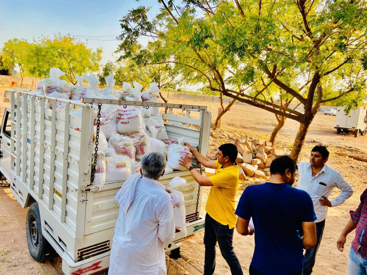 Covid-19: Deutsche Bank provides ration kits to tribals in Raigad