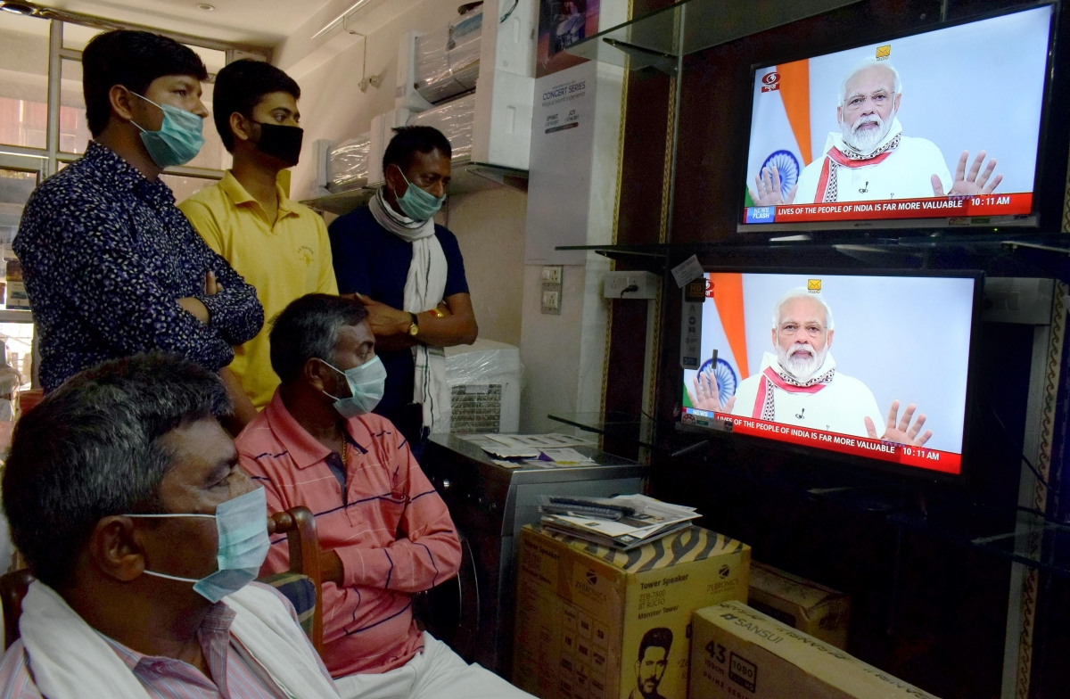 People hear PM Modi's speech to the nation on April 14