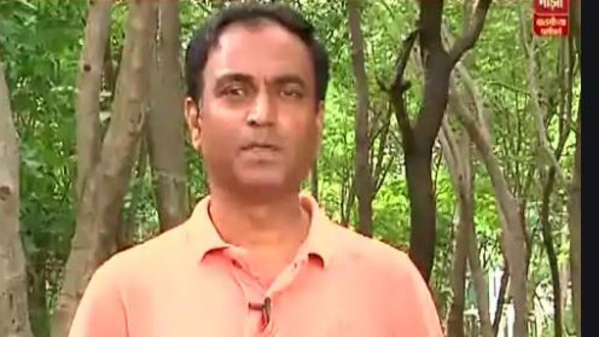 TV reporter Rahul Kulkarni