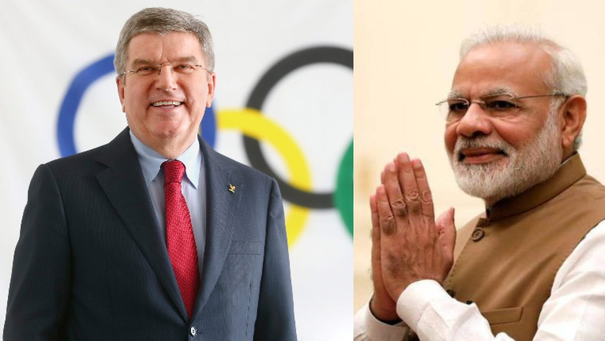 IOC President hails PM Narendra Modi's commitment and contribution to battle coronavirus; supporting Olympic Games