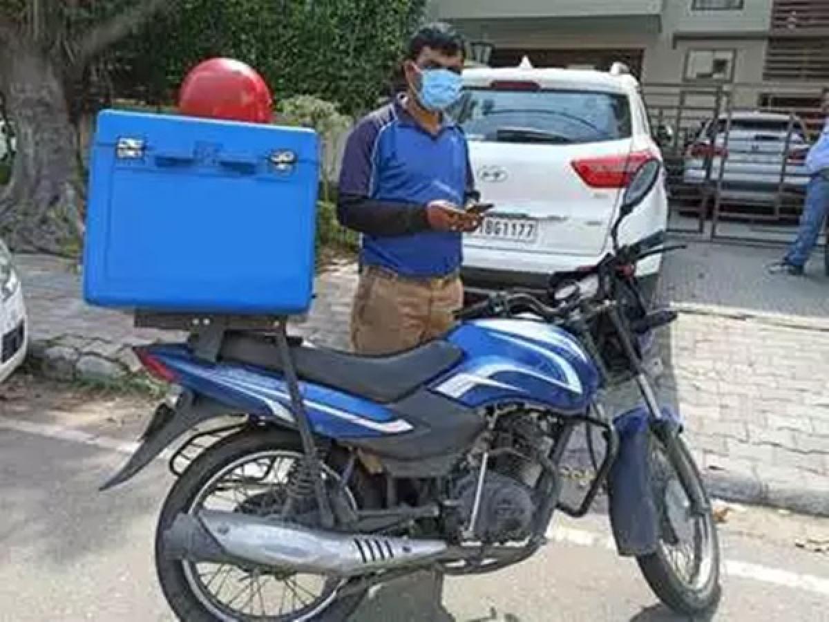 Are door-to-door food deliveries