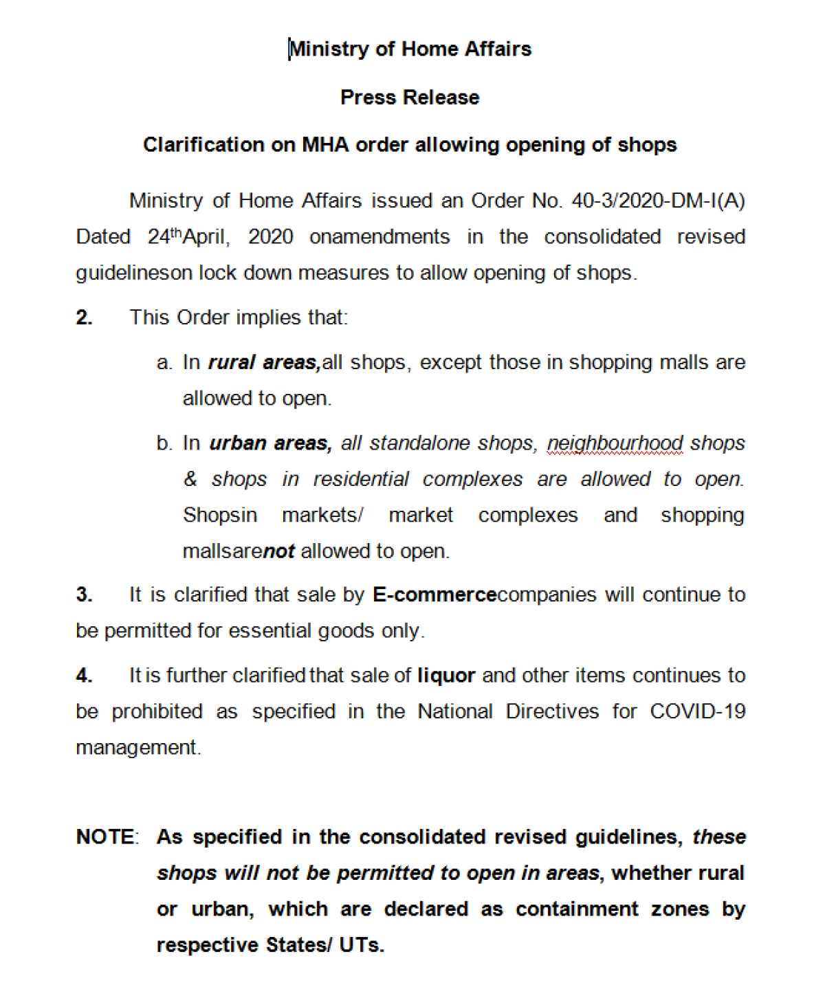 Will wine shops be open in Mumbai, Thane and Navi Mumbai? MHA clarifies order on relaxing restriction on opening of shops across India