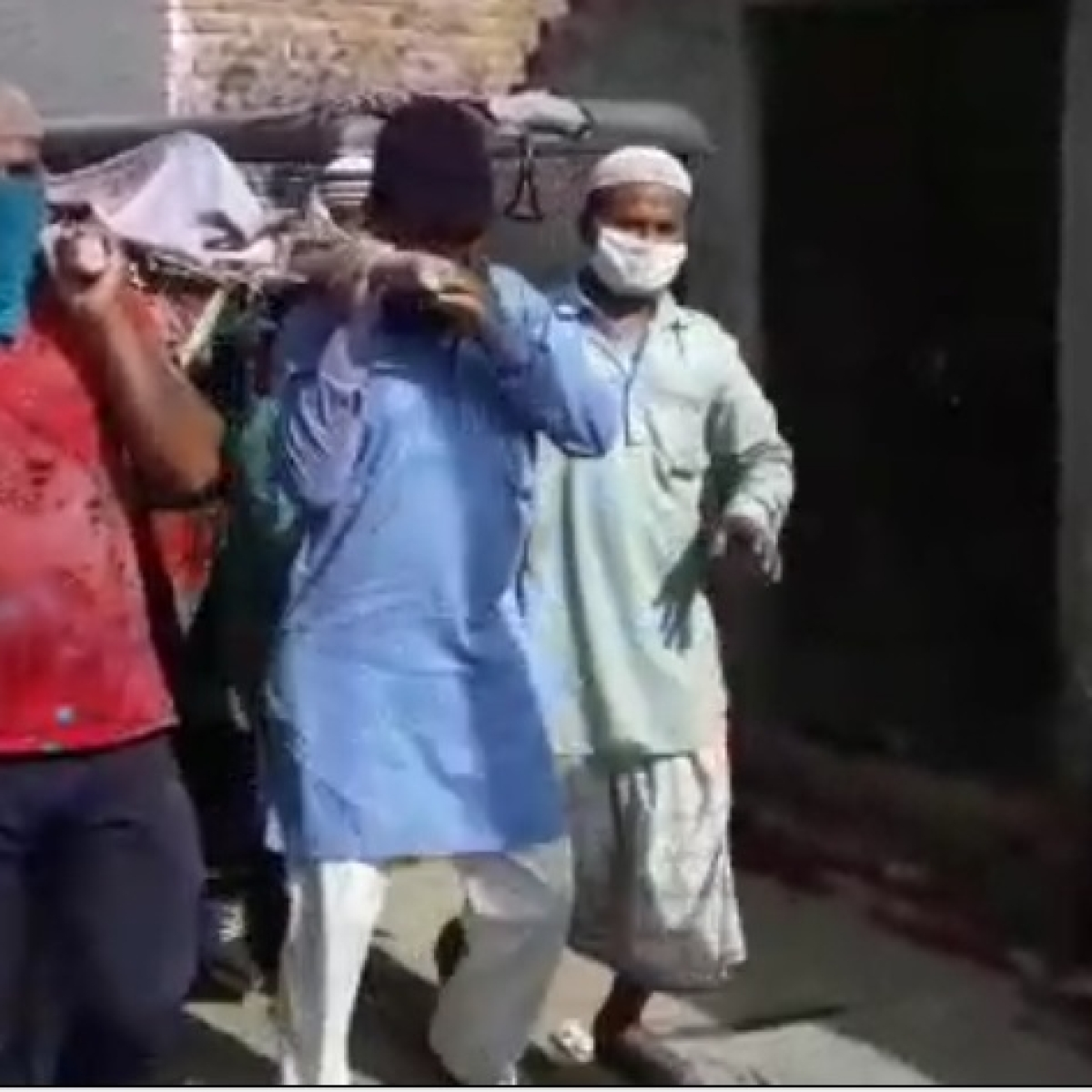 No hate, only love: Muslims turn pallbearers for Hindu brother in Bhatta Basti in Jaipur