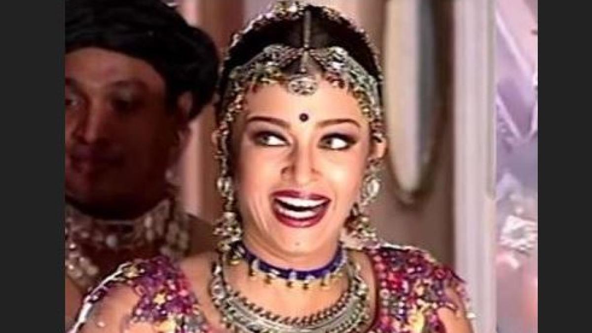 Aishwarya Rai Bachchan from Radheshyam Sitaram which never released.