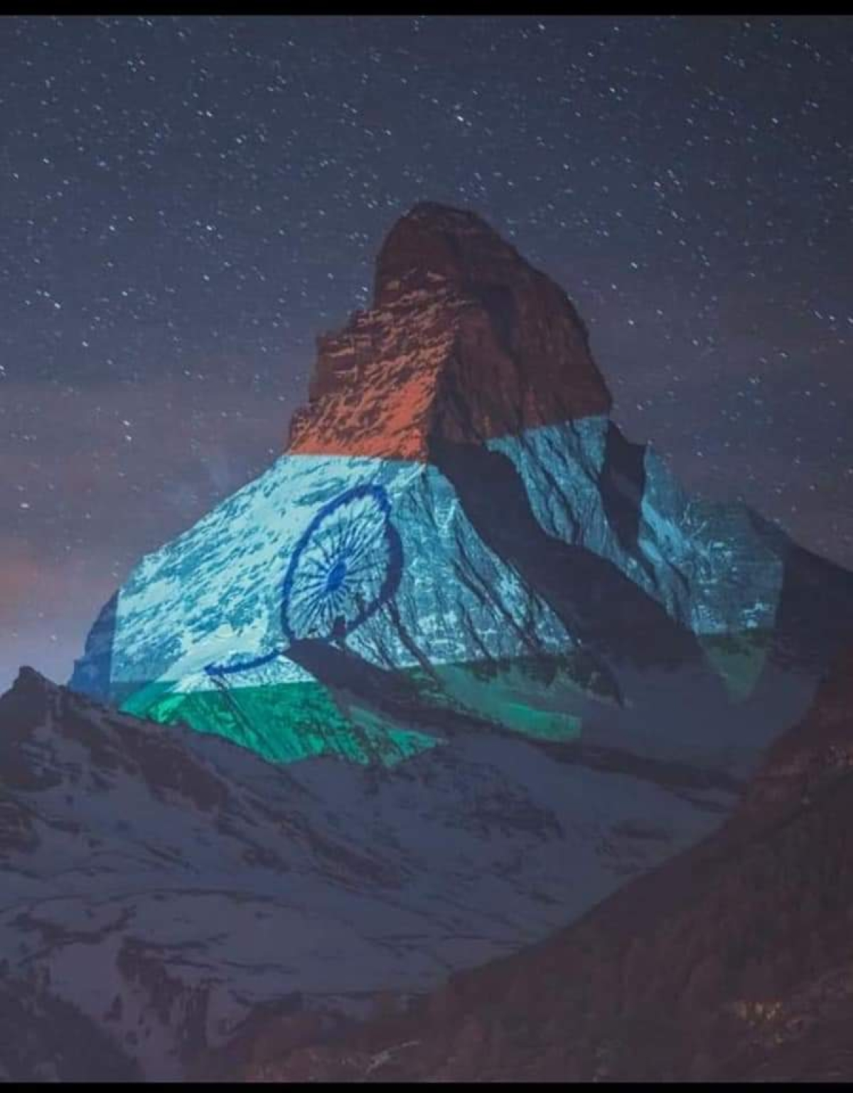 These pics and video of India's tricolour on Switzerland's Matterhorn will make every patriot emotional