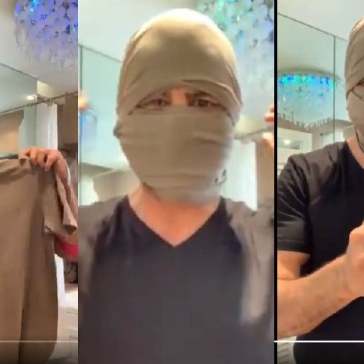 US protesters use Ronit Roy's 'No mask? Tension nahin Leneka!' video to escape facial recognition