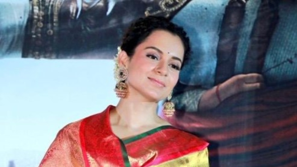 Kangana Ranaut dresses as Sita for 'Ramayana' school play and the pic is unmissable!
