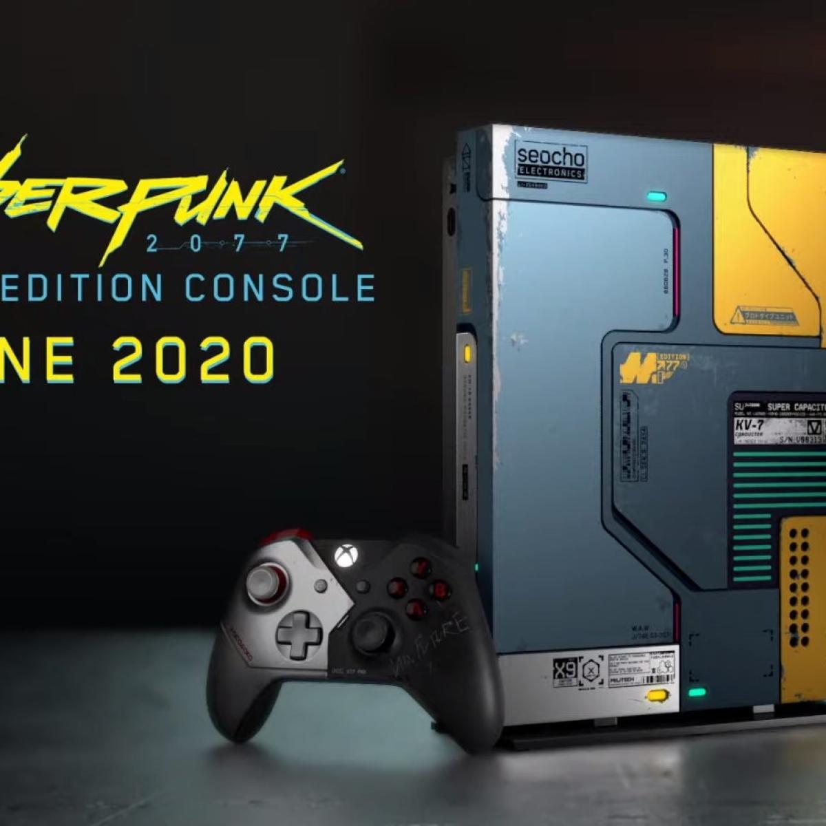 Microsoft's Cyberpunk-themed Xbox glows in the dark