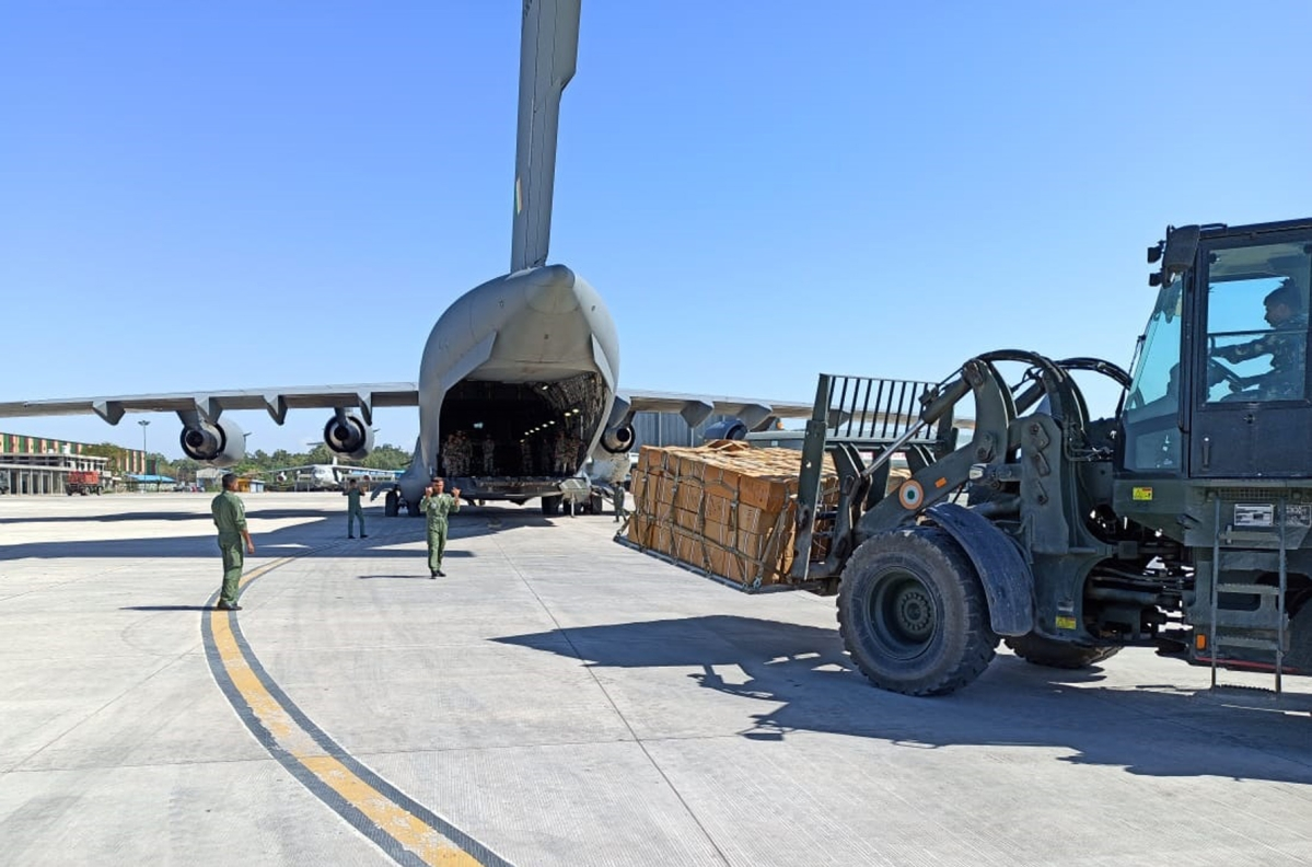 IAF continues its support towards the fight against coronavirus