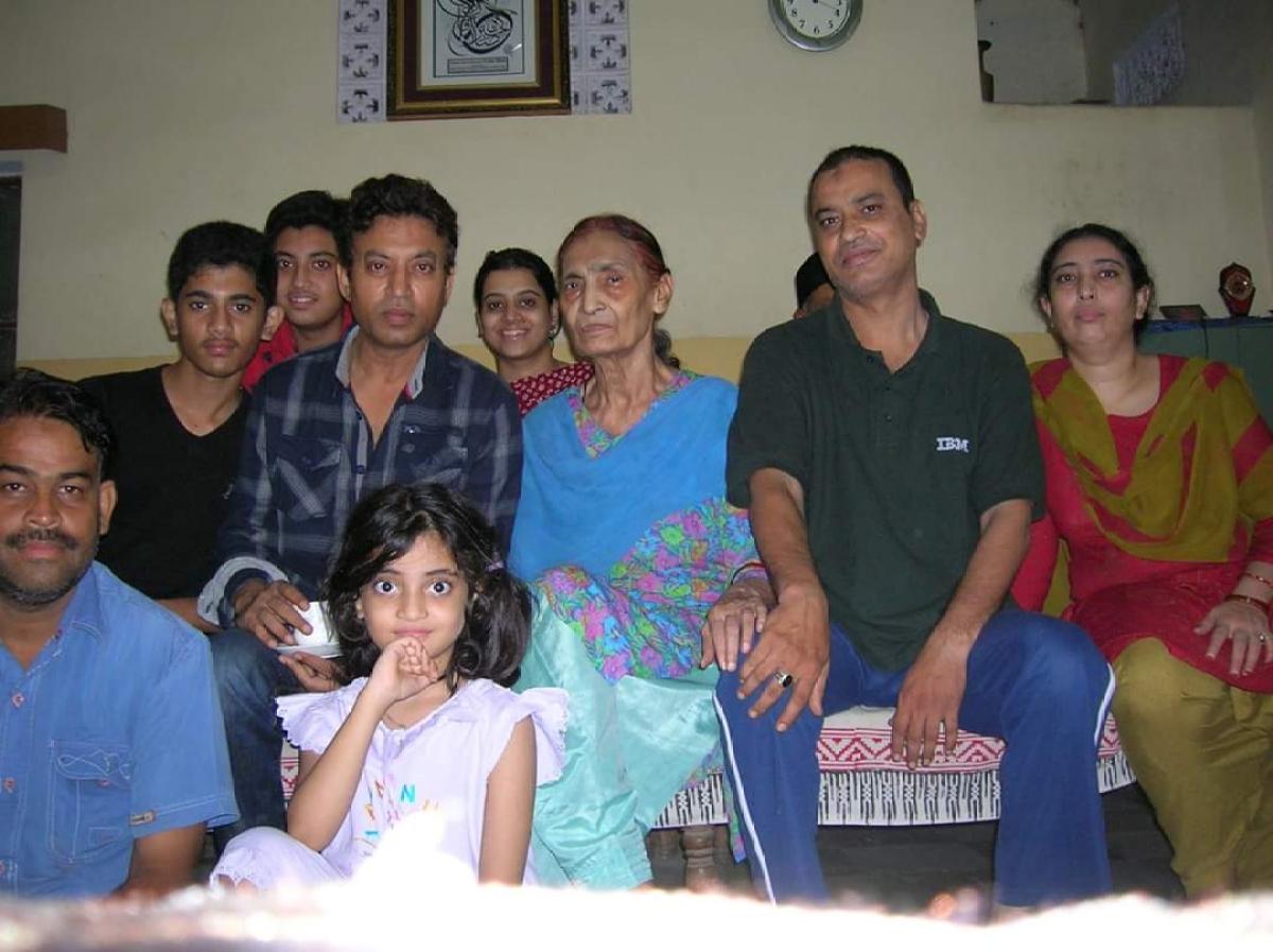 Actor Irrfan Khan's mother Saeeda Begum passes away in Jaipur