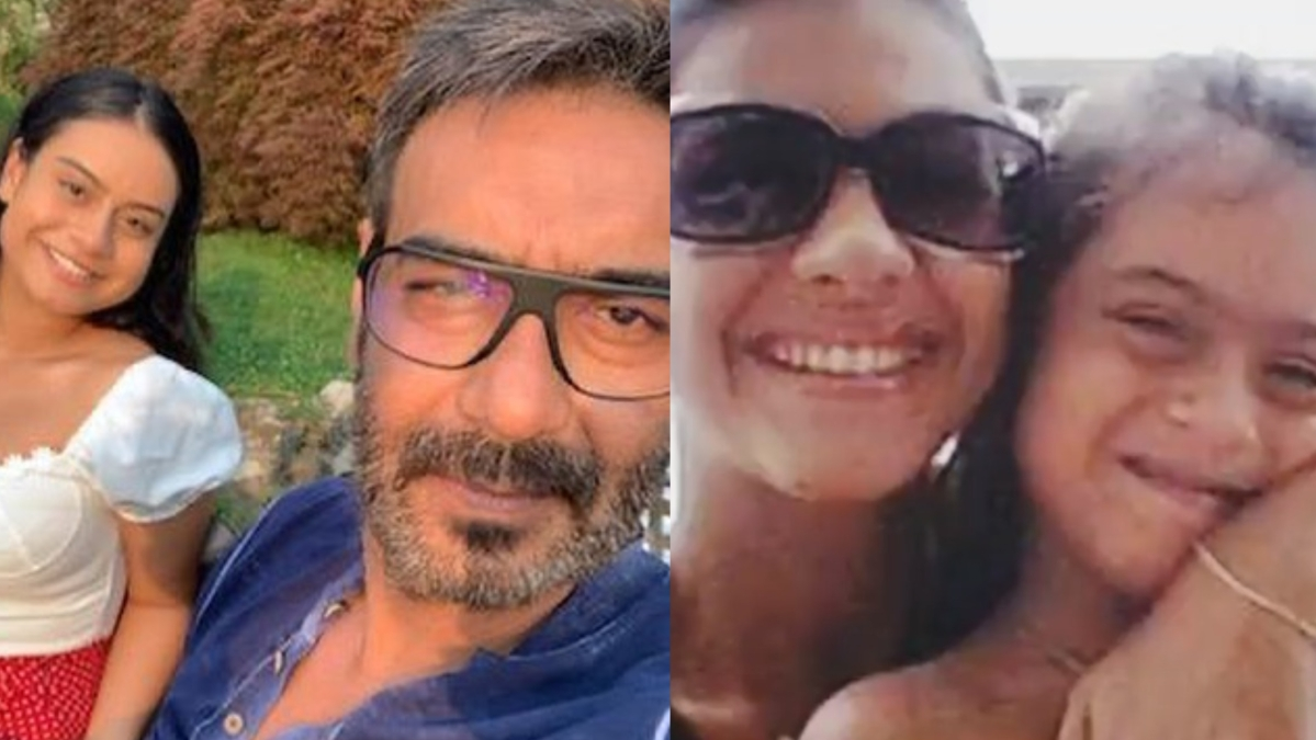 Ajay Devgn, Kajol wish daughter Nysa on 17th birthday by sharing adorable pics