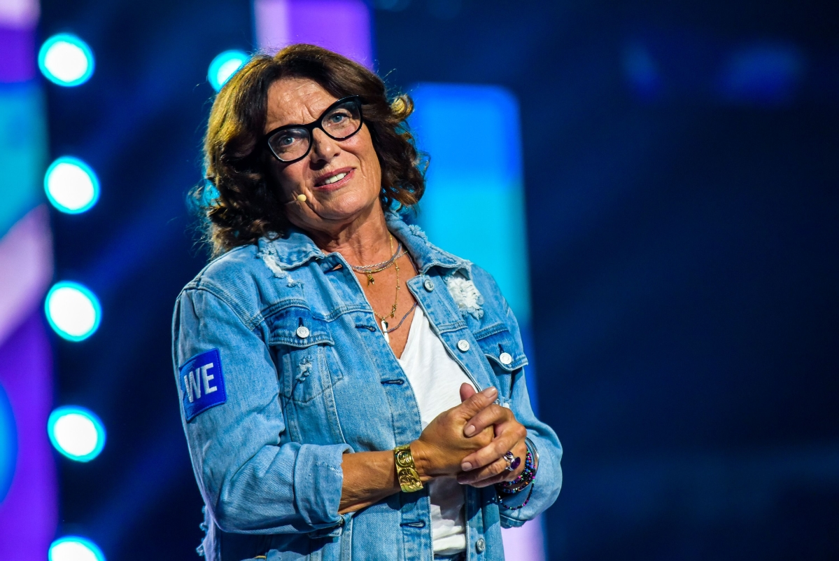 Margaret Trudeau, the mother of Canadian Prime Minister Justin Trudeau