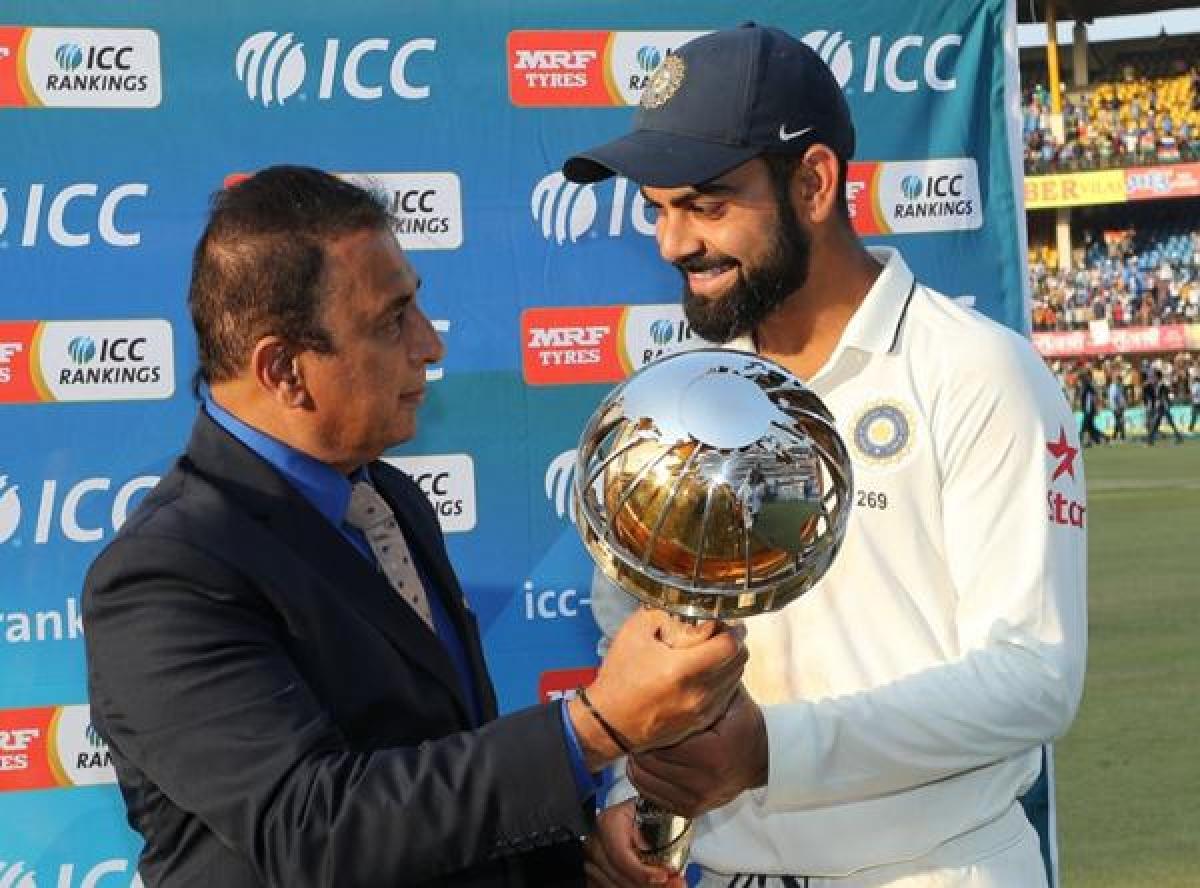 Virat Kohli's gestures have helped build team spirit, says Gavaskar